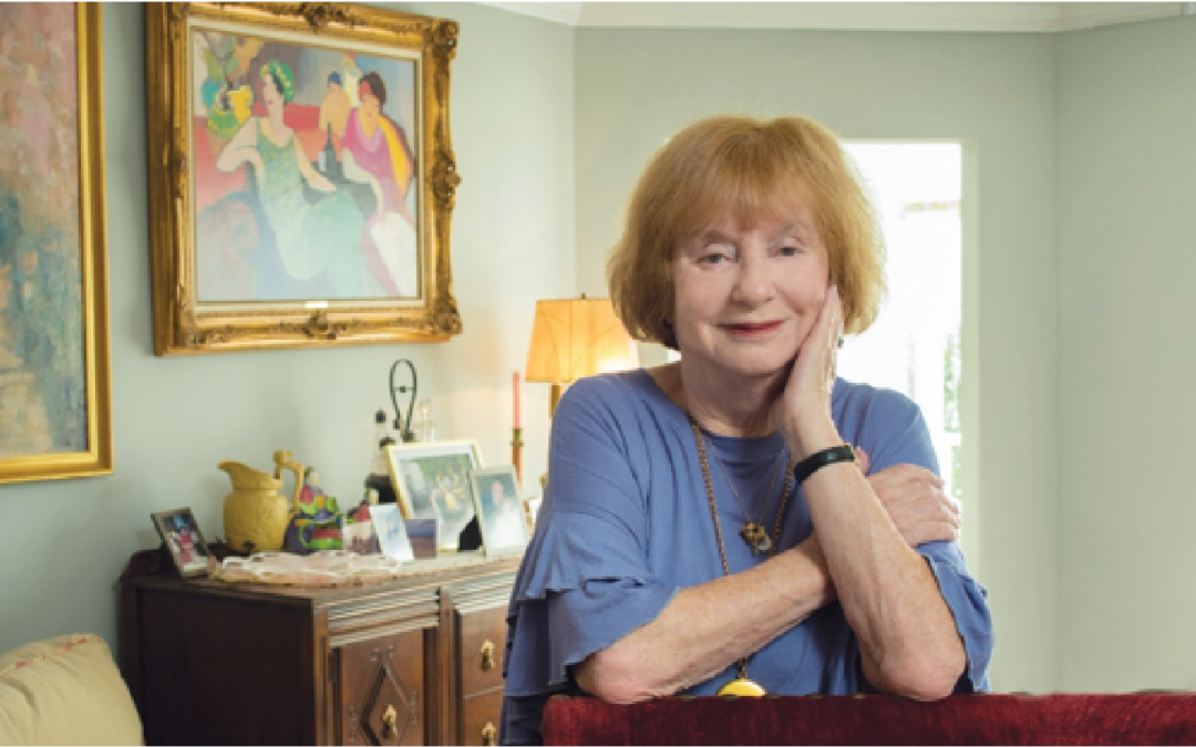 Art Collection Reflects Suzanne Schneider's Colorful Life Story